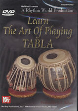 Learn the Art of Playing Tabla Hand Drum Tuition DVD Learn How To Play