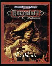 AD&D - DARKLORDS accessory TSR 9331 Ravenloft  RR1 Vgc