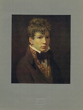 Jean Auguste Dominique Ingres (1780-1867) by David -1939 Pushkin Museum Print