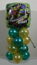 TEENAGE MUTANT NINJA TURTLES - FOIL BALLOON DISPLAY - TABLE CENTREPIECE