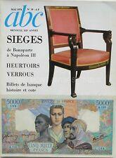 ABC n°39 - 1976 - Les Sièges - Heurtoirs et Verrous - Billets de Banque et cote