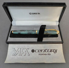 Vintage YAFA Fountain Pen IRIDIUM POINT with Original Case & Instruction booklet