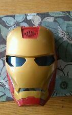 Iron Man Mask, Hasbro, Lights-up, Talks, See Video (PLEASE READ)