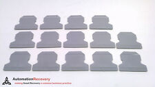 PHOENIX CONTACT ATP-UK - PACK OF 14 - PARTITION PLATE GRAY, NEW* #220946