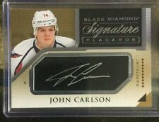 2015-16 Black Diamond John Carlson Auto Upper Deck 15/16