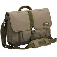 "STM Laptop Notebook Messenger Bag 13"" Carry Shoulder Case Water Resistant Olive"
