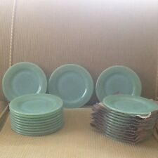 "One Jadite Fire-King Restaurant Ware one 6 3/4"" plate. Multiple Plates Available"