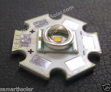 Cree XLamp XR-E Q5 Cool White 3W 300 lumen LED Light Emitter with 20mm Star PCB