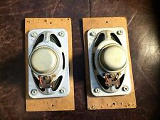 "Pair of Vintage Saba 3"" x 5"" Speakers Made in Germany marked 576 5-ohm"