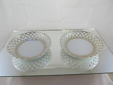 ANTICA COPPIA DI PIATTI IN CERAMICA PRIMO 900 VINTAGE PAIR OF CERAMIC PLATES R50