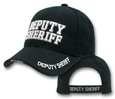 Deluxe Deputy Sheriff White Embroidered Hat