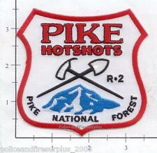Colorado - Pike National Forest CO - Pike Hotshots Fire Dept Patch