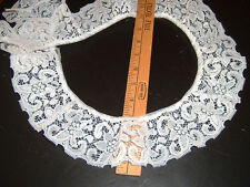 """3"""" wide WHITE gathered lace trim  12 yds (X6151)"""