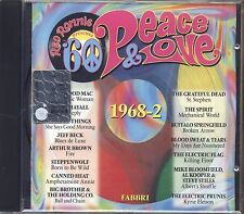 RED RONNIE - Peace & lOVE 1968-2 JOHN MAYAL JEFF BECK THE SPIRIT STEPPENWOLF CD