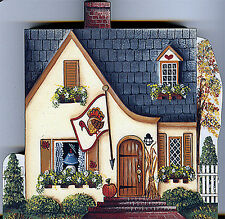 Brandywine Seasons of the Heart: NOVEMBER Thanksgiving House Wooden Shelf Sitter