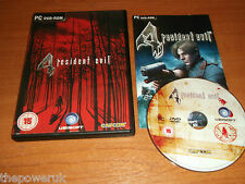 RESIDENT EVIL 4   - PC-DVD    FAST POST