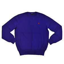 Polo Ralph Lauren Mens Sweater French Rib Crew Neck Pony Logo Pullover New Nwt