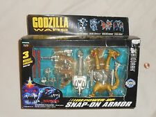 NEW Godzilla Wars - Power-Up GHIDORAH w/ Snap-on Armor Toy Figure + Trading Card