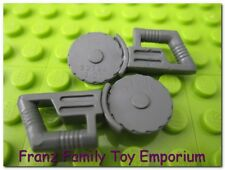 LEGO Minifig Tool x2 Dark Blue Gray Saw Circular Blade Star Wars 7252 7751 7962