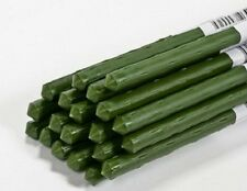 "(50) Panacea 89786 3 ft / 36"" Green Coated Metal Plant Sturdy Stakes Supports"