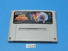 USED SUPER METROID SNES Nintendo Super Famicom SFC Video Games From Japan 18526