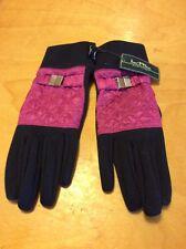 Lauren Ralph Lauren Active  Running Touch Phone Gloves Gloves Size S/M