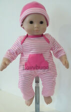 """Hot Pink Onesie  Doll Clothes for 15 - 18"""" Doll Bitty Baby  Lovvbugg: Found It!"""