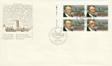 CANADA #1117 34¢ JOHN MOLSON UL PLATE BLOCK FIRST DAY COVER