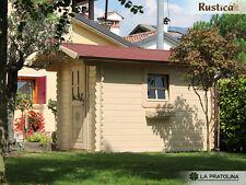 Casetta legno giardino LA PRATOLINA alta qualità spessore 33 mm di abete 2x3