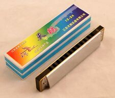 New Swan Diatonic Harmonica /12 Hole Key of C Harmonica/ FREE POST/ Best on Web
