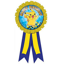 POKEMON Pikachu and Friends GUEST OF  HONOR RIBBON (1) ~ Birthday Party Supplies