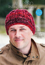 KNITTING PATTERN MEN RIBBED BEANIE HAT QUICK EASY CHUNKY SKM AUA SPECIAL OFFER