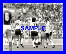 Foto Original-Paul Mariner Graham Rix Phil Thompson Inglaterra V Checoslovaquia
