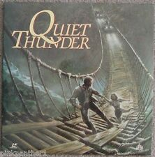 QUIET THUNDER  African Jungle June Chadwick  Wayne Crawford  Laserdisc Edit. NEW