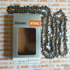 "18"" 45cm Genuine Stihl Chainsaw Chain .325"" 1.6mm .063"" 74 DL Tracked Royal Mail"