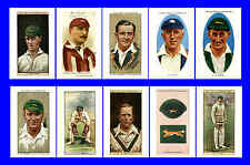 LEICESTERSHIRE - CIGARETTE CARD HEROES -  POSTCARD SET # 1