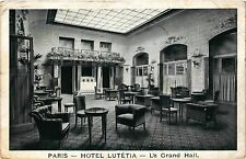 CPA Paris 6e Paris-Hotel Lutétia-Le Grand Hall (312886)