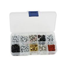 Desktop 228pc Screws Kit Motherboard Standoffs PC Fan CASE Thumb Screws Gasket