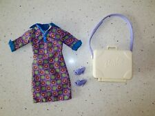 Barbie Clothes  MATERNITY Dress Maternity  Suitcase Shoes   Lot F46