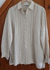 Liz Claiborne Linen Shirt M