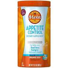 Meta Appetite Dietary Supplement Sugar-Free Powder, Orange Zest 23.30 oz