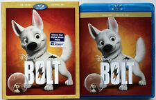 DISNEY BOLT BLU RAY + SLIPCOVER SLEEVE FREE WORLD WIDE SHIPPING BUY IT NOW