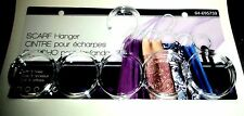 Clear Acrylic SCARF HANGER With 5 Holes New And Carded