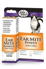 Ear Mite Remedy for Cats - .75 oz - Four Paws
