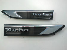 2011-2015 Kia Optima Pair of TURBO Fender Grilles OEM 87771-2T500 87772-2T500