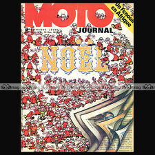 MOTO JOURNAL N°147 JEAN-CLAUDE NOWAK, MONARK, KAWASAKI 350 BIG HORN, CROSS STORY