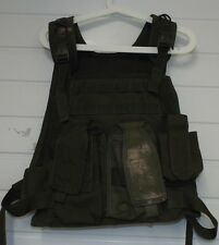 BLACKHAWK STRIKE MOLLE PLATE CARRIER VEST - Olive green  Small , Military