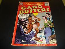 Gang Busters #53 DC Silver Age Comic Book from 1956 VG Condition (Approx 3.5)