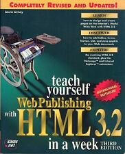 Laura Lemay/Teach yourself Web Publishing with HTML 3.2 in a week