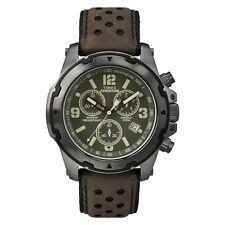 Timex TW4B01600 Mens Expedition Analog Shock Brown Chrono Watch RRP £99.99